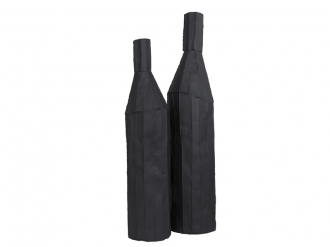 Paper Clay Bottle BLACK1